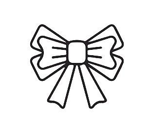 Marcador de biscoito - Laço
