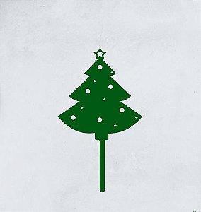 Topo - Arvore de Natal- Acrílico - Várias cores