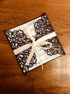 Kit - 50 unidades envelopes para convites - Julia