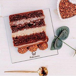 Cake Board MDF - Quadrado - Personalizado (Vários tamanhos) Kit 5 unidades