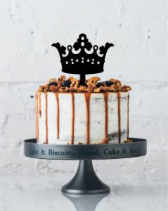 Topo de bolo - Coroas Acrílico - Várias cores