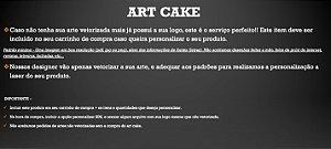 Art Cake - (Vetorize sua conosco)