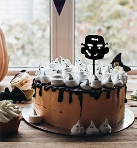 Topo de bolo -Frankenstein -  Acrílico - Várias cores