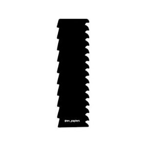 Espátula decorativa para bolo 02 - Acrílico