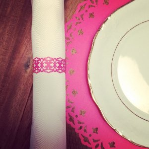 Sousplat - Liss Pink