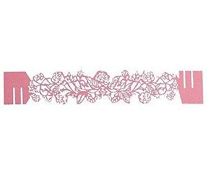 Porta Guardanapo - Roses Rosa