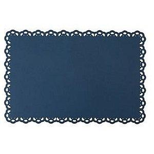 Jogo Americano - Pétala Azul marinho