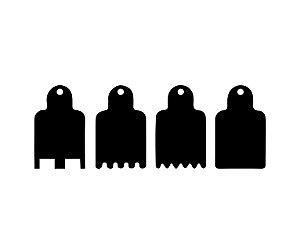 KIT - Espatulas para mini bolo - 01 - Acrílico
