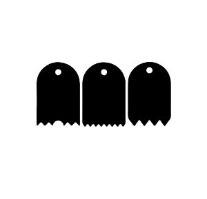 KIT - Espatulas para mini bolo - 04 - Acrílico