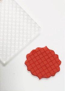 Marcador de biscoito - Textura Geo 01