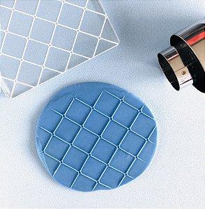 Marcador de biscoito - Textura Geo 04