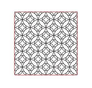 Marcador de biscoito - Textura Geo 06