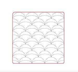 Marcador de biscoito - Textura Geo 09