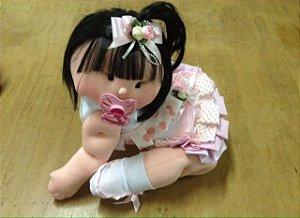 Boneca articulada - Bebê engatinhando
