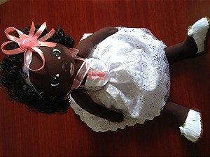 Boneca articulada - Bebê negra