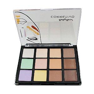Corretivo 12 Cores Profissional  - HB8087 Cor 1