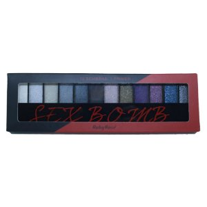 Paleta de Sombras Ruby Rose HB-9912 – Sexy Bomb 12 cores com Primer