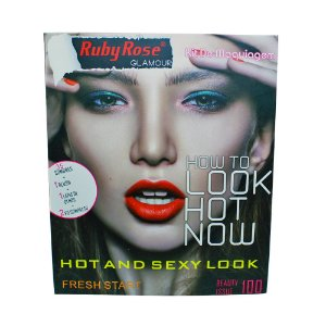 Kit de Maquiagem Ruby Rose Glamour - How To Look Hot Now