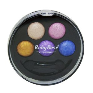Kit de Sombra Ruby Rose - 5 Cores - Cor 1