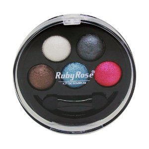 Kit de Sombra Ruby Rose - 5 Cores - Cor 2