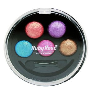 Kit de Sombra Ruby Rose - 5 Cores - Cor 4