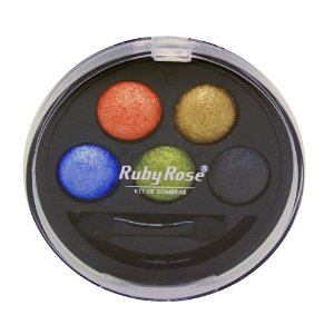 Kit de Sombra Ruby Rose - 5 Cores - Cor 6