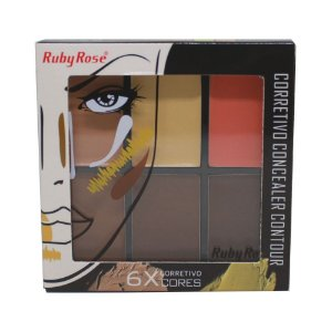 Corretivo Concealer Contour Ruby Rose HB-8088 - Medium