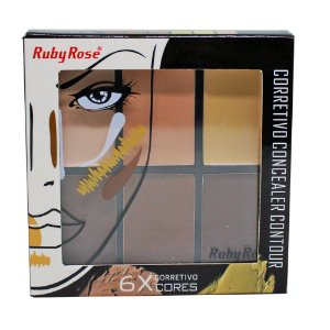 Corretivo Concealer Contour Ruby Rose HB-8088 - Light