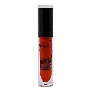 Batom Liquido Ruby Rose HB-8217 Matte Metálico STAR - Cor 01