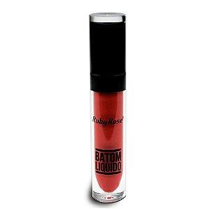 Batom Liquido Matte NEW Ruby Rose HB-8213M - Cor 76
