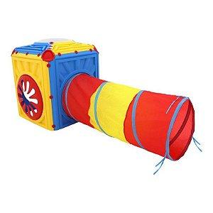 Cubo com Túnel Infantil