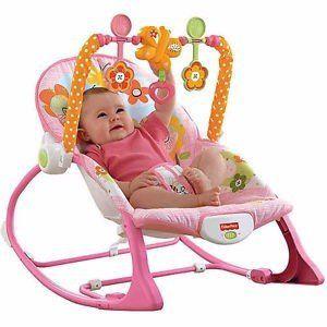 Cadeira de Descanso Minha Primeira Infância - Rosa