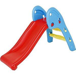 Escorregador SlidePlay dobrável vermelho-azul