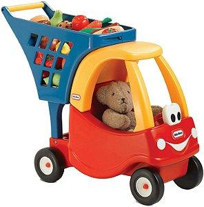 Carro Supermercado Cozy Coupe Vermelho Little Tikes