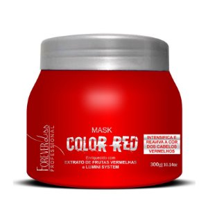 FOREVER LISS MÁSCARA TONALIZANTE COLOR RED 250G