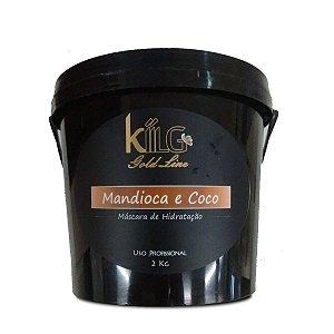 KIILG MÁSCARA DE MANDIOCA E COCO 2KG