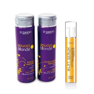 KIT MATIZADOR BLONDE 250ML + LIFT SERUM REPARADOR 50ML