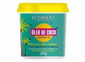 DZAHOO MÁSCARA ULTRA NUTRITIVA ÓLEO DE COCO 240G