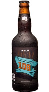 Cerveja Invicta 108 Imperial Stout 500ml