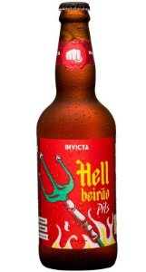 Cerveja Invicta HellBeirão German Pilsener 500ml