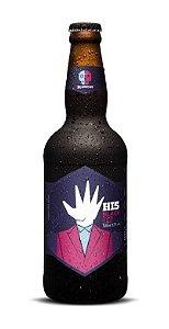 Cerveja 2 Cabeças HI-5 India Black Ale 500ml