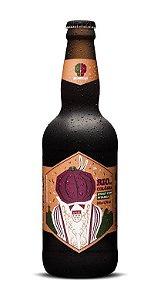 Cerveja 2 Cabeças Rio de Côlonia Stout 500ml