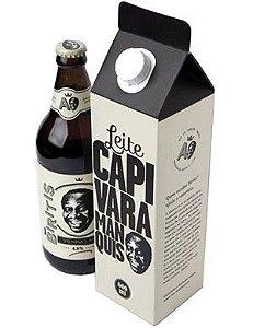 Kit Caixa de Leite Cerveja Biritis do Mussum 600ml
