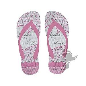 chinelos para casamento