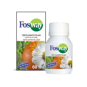 Fertilizante Fosway 60 ml - Concentrado - Resistência para suas Rosas