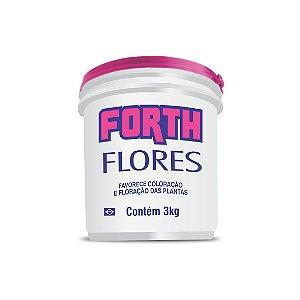 Fertilizante granulado FORTH FLORES - 3kg