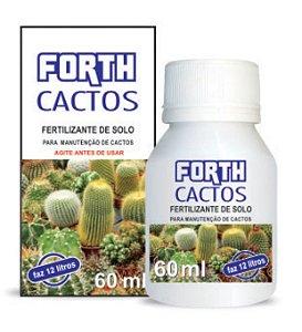 Fertilizante Líquido - FORTH Cactos 60ml - Concentrado