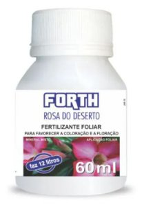 Fertilizante Líquido - Forth Rosa do Deserto Concentrado 60ml