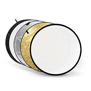 Rebatedor Circular 5 em 1 Dobrável - Tamanho Ø 110cm