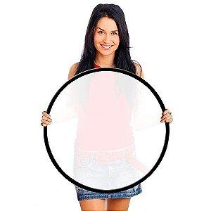 Difusor Flexível - Circular Branco Translúcido Ø80cm
